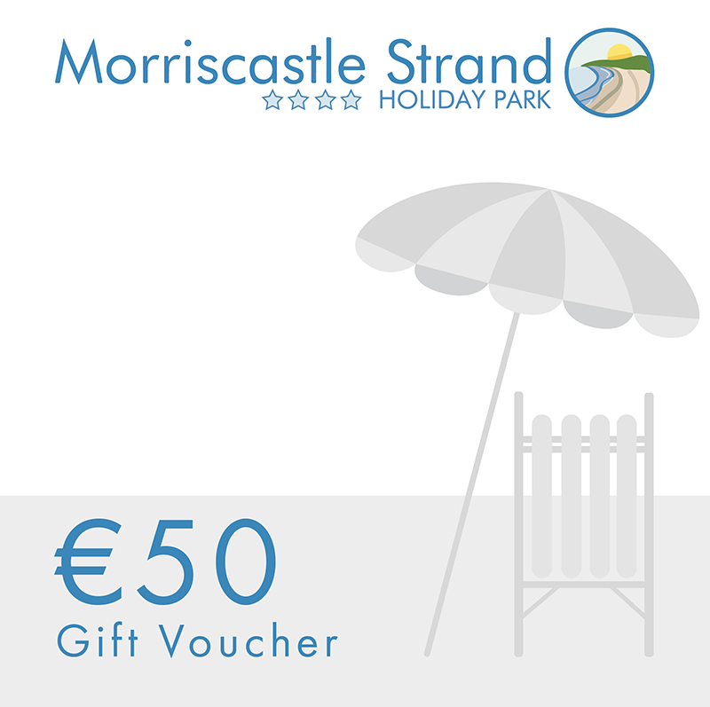 morriscastle strand 50 voucher gift holiday park fun
