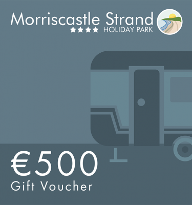 morriscastle strand voucher 500 camping activities gift