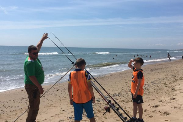 morriscastle strand activities family fun fishing
