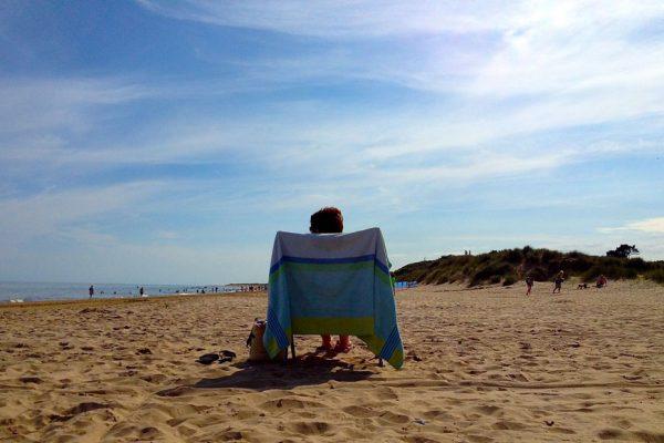 morriscastle strand beach relax sunshine