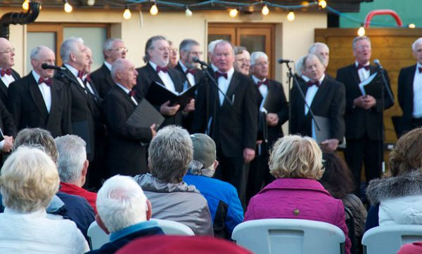 morriscastle strand events male choir