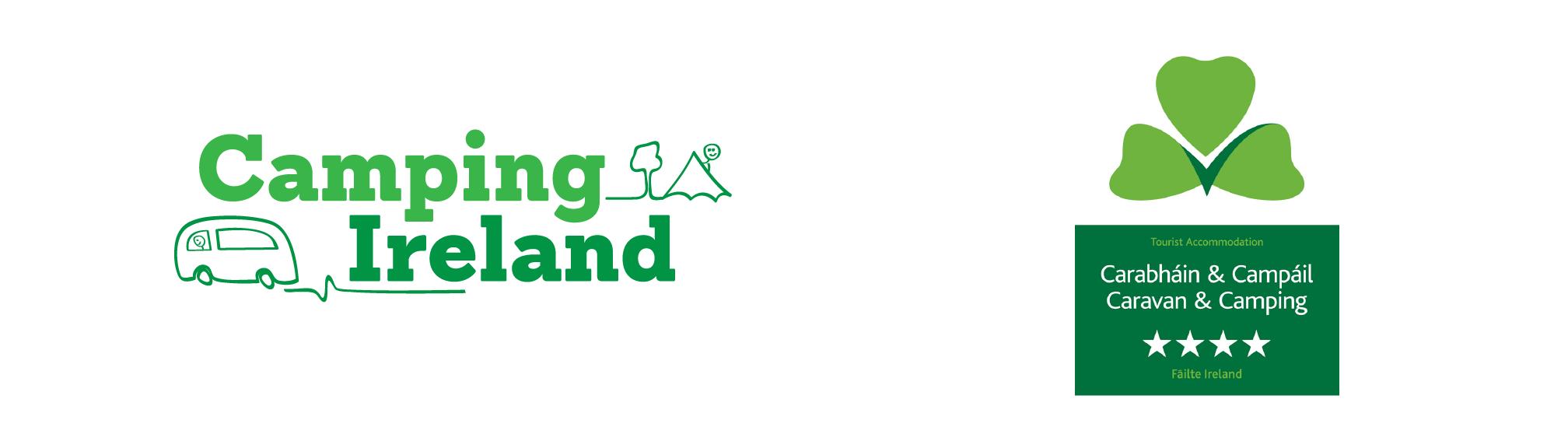 morriscastle strand partner logos camping ireland caravan
